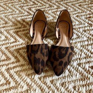Women's Leopard Flats
